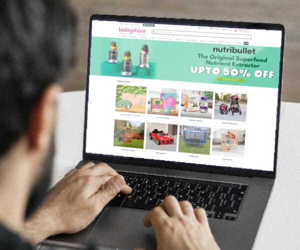 BabyStore - E-Commerce Website - B2C Platform - CMS Magento